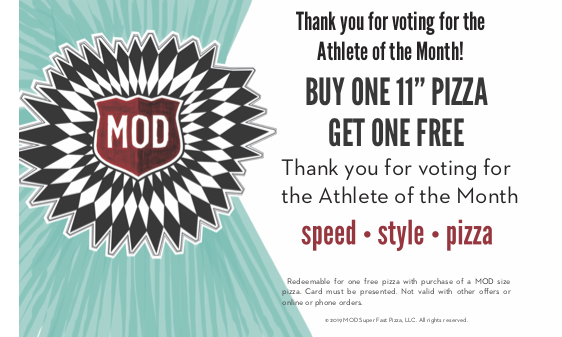 MOD Pizza AOTM – Thank You Page