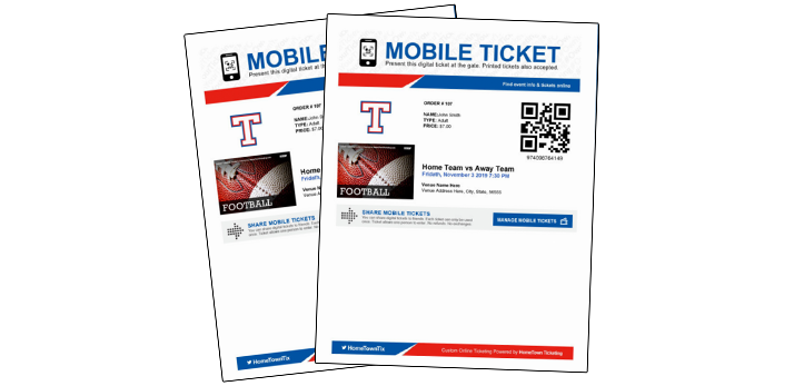 Digital Game Tickets