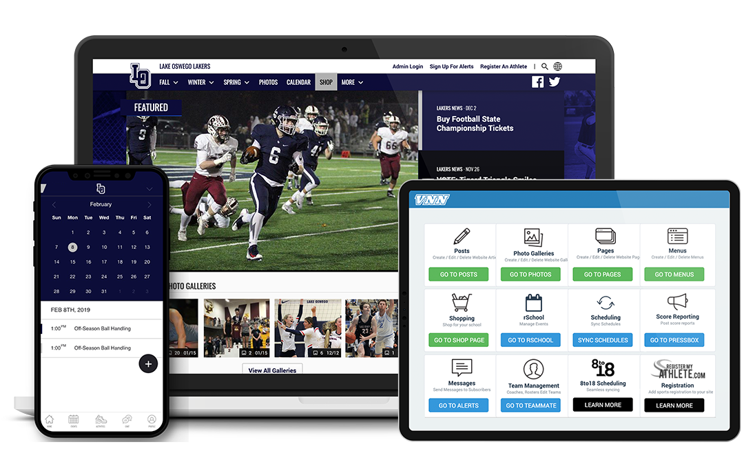 Solutions for High School Athletic Departments